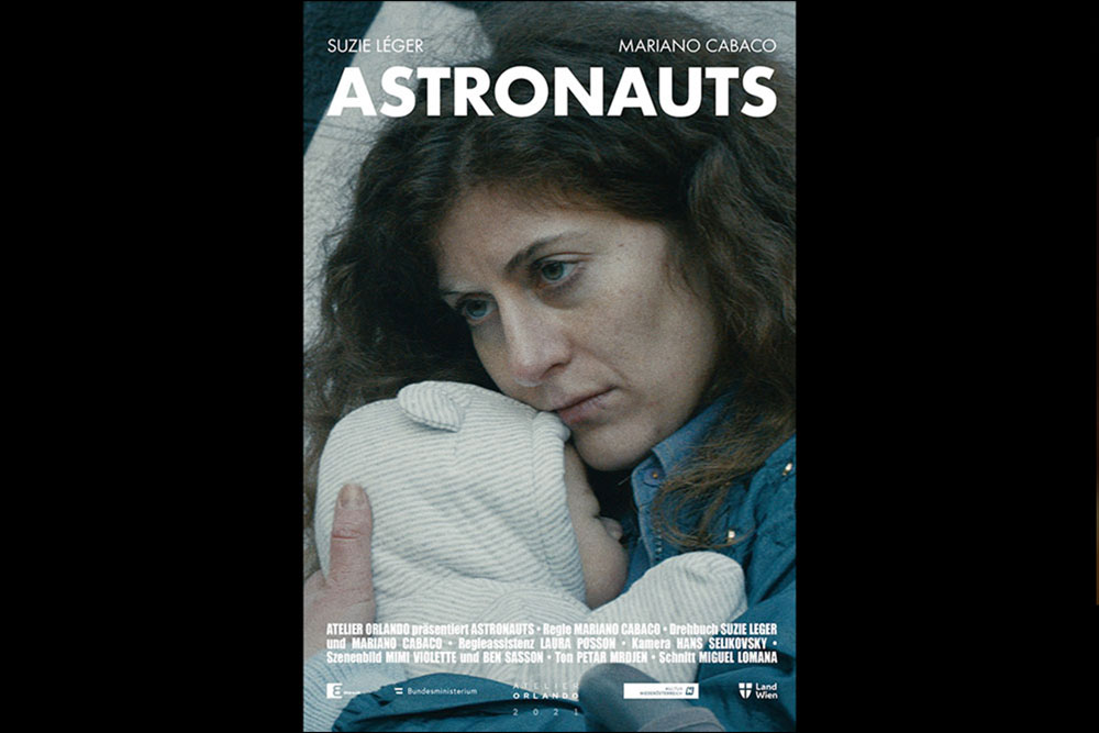 Suzie Léger, Film poster of Astronauts by Martiano Cabaco